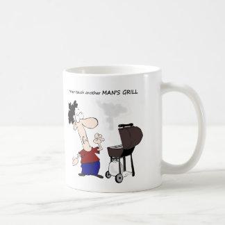 Cocinero divertido del dibujo animado de la cita taza clásica