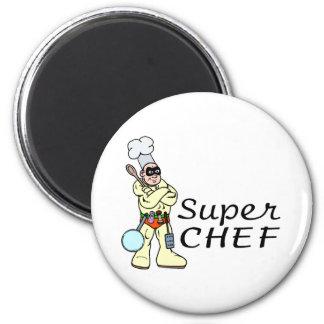 Cocinero estupendo iman de nevera
