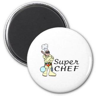 Cocinero estupendo iman