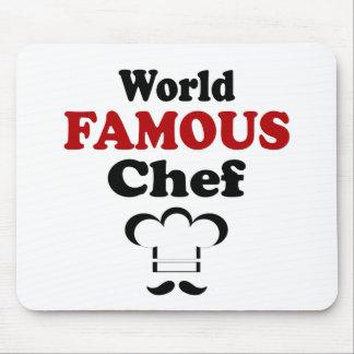 Cocinero famoso tapetes de ratones