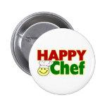 Cocinero feliz pin
