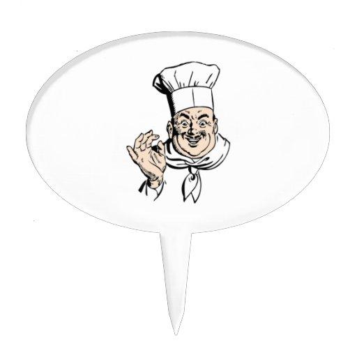 Cocinero Figuras De Tarta