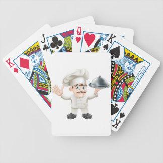 Cocinero francés baraja de cartas
