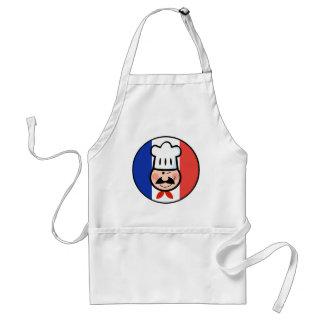 Cocinero francés delantales