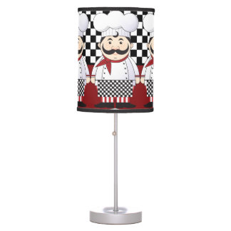 Cocinero francés lámpara de escritorio