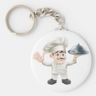 Cocinero francés llavero personalizado
