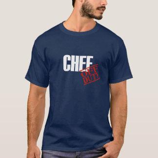 Cocinero fuera de servicio playera