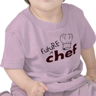 Cocinero futuro camiseta