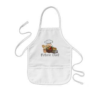 Cocinero futuro delantal infantil