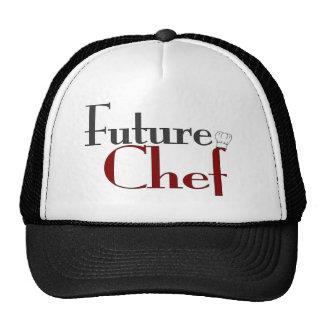 Cocinero futuro gorras