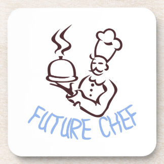 Cocinero futuro posavasos de bebidas