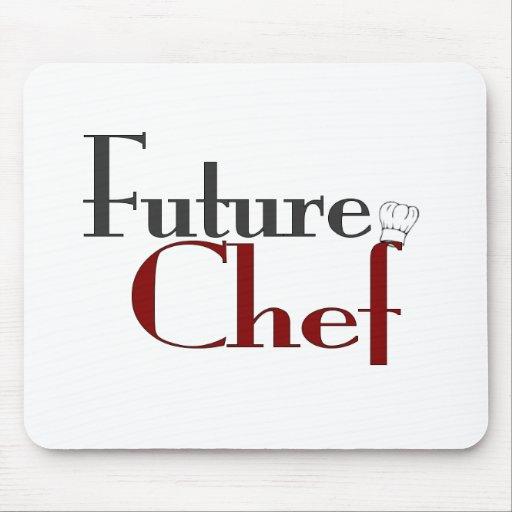Cocinero futuro tapete de raton