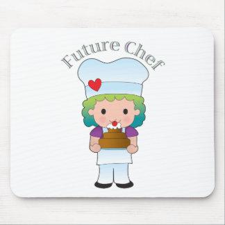 Cocinero futuro tapetes de raton