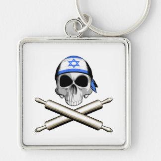 Cocinero israelí 3 llaveros personalizados