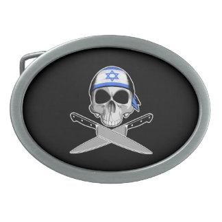 Cocinero israelí hebillas de cinturón ovales