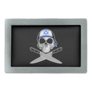Cocinero israelí hebilla cinturon rectangular
