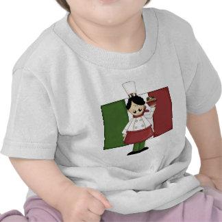 Cocinero italiano - personalizable camiseta