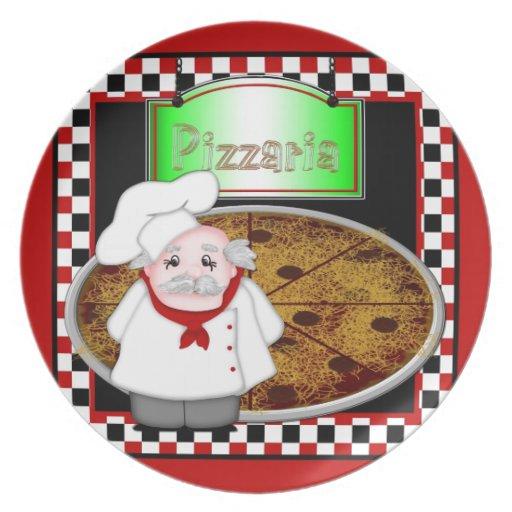 Cocinero Italiano Platos