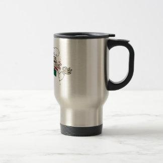 Cocinero italiano taza de café