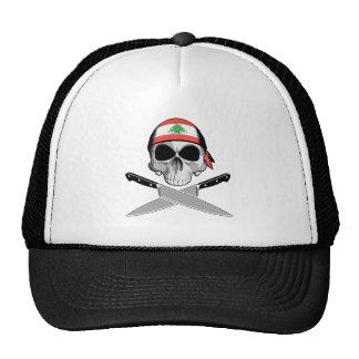 Cocinero libanés gorras