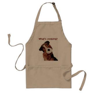 Cocinero lindo del perro de Terrier Delantal