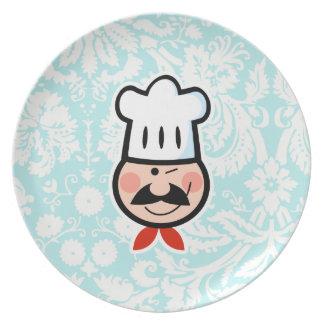 Cocinero; Lindo Plato Para Fiesta