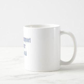 Cocinero local taza de café