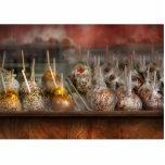 Cocinero - manzanas de caramelo para la venta esculturas fotograficas