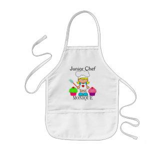 Cocinero menor precioso delantal infantil