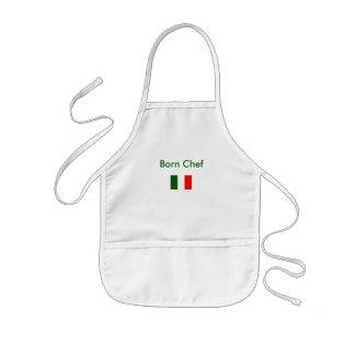 Cocinero nacido - el delantal del niño
