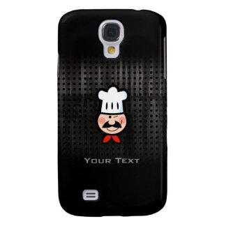 Cocinero; Negro fresco Funda Para Galaxy S4
