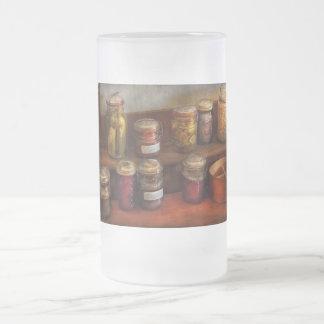 Cocinero - país - preservar historia jarra de cerveza esmerilada