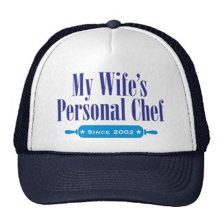 Cocinero personal de Wifes, desde 2002 Gorro De Camionero