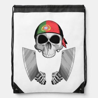 Cocinero portugués 2 mochilas