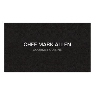 Cocinero profesional tarjetas de visita