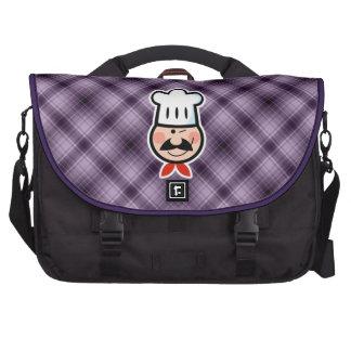 Cocinero púrpura bolsas de portatil