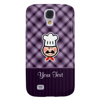 Cocinero púrpura funda para galaxy s4