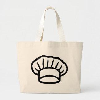 Cocinero que cocina el gorra bolsas de mano