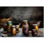 Cocinero - reserva del invierno escultura fotográfica