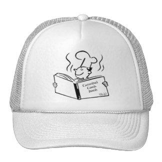 Cocinero retro - libro del cocinero del caníbal gorros bordados