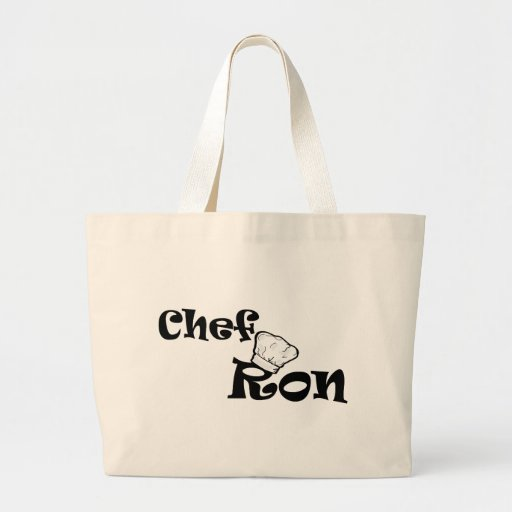 Cocinero Ron Bolsa Tela Grande
