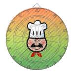 Cocinero Tablero De Dardos