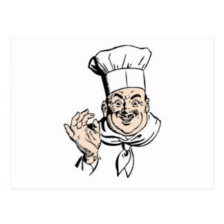 Cocinero Tarjetas Postales
