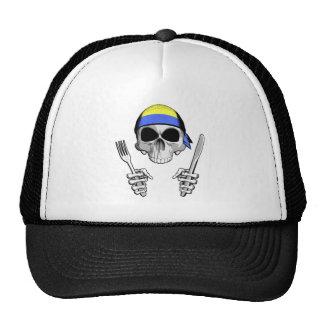 Cocinero ucraniano 4 gorras de camionero