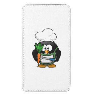 Cocinero vegetariano del pingüino funda para galaxy s5
