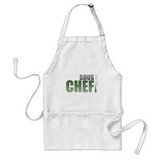 Cocinero verde de Sous Delantal