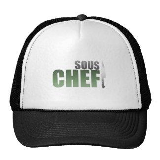 Cocinero verde de Sous Gorras De Camionero