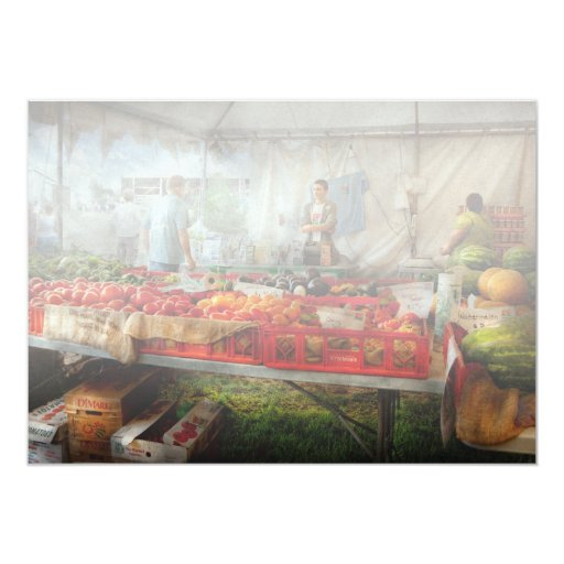 Cocinero - verdura - mercado fresco de los anuncios