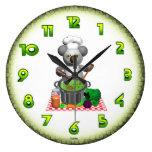 Cocineros de la koala en reloj del pote