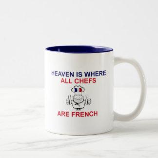 Cocineros franceses taza de dos tonos